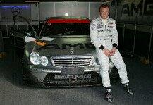 DTM: Kimi Räikkönen: Als der Iceman einen DTM-Mercedes fuhr