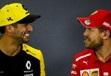 Formel 1: Formel 1, Ricciardo: Vettel braucht nur ein Rennen zur Wende