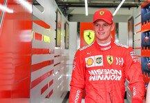 Formel 1: Formel 1: Mick Schumacher testet erst Ferrari, dann Alfa