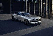 Auto: Peugeot präsentiert e-Legend Concept bei in Cernobbio