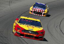 NASCAR: NASCAR Michigan: Starker Joey Logano gewinnt Monday-Night-Race