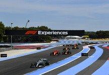 Formel 1: Regen im Rennen? Wettervorhersage des Frankreich-Grand-Prix