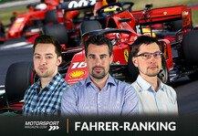 Formel 1: Formel 1, Silverstone-Noten: Leclerc Erster, Vettel Letzter