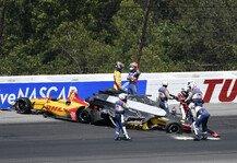 IndyCar: Massencrash beim IndyCar-Start in Pocono