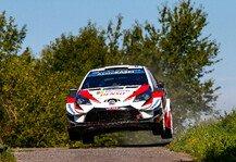 WRC: WRC Rallye Deutschland 2019 im Live-Ticker: Tänak an der Spitze