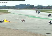 MotoGP: MotoGP: Schlimmer Crash von Quartararo und Dovizioso