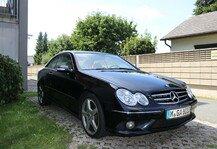 Auto: Gebrauchtwagen-Verkauf: Mercedes-Benz CLK 200 Kompressor Coupé