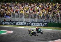 MotoGP: MotoGP-Events in Misano mit Zuschauern an der Strecke