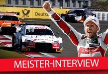 DTM: DTM-Champion Rene Rasts Wunsch: Würde gern Ekström überholen