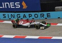 Formel 1: Formel 1 Singapur, Räikkönen: Ewiger Stromausfall lähmte Alfa