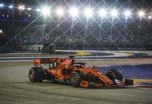 Formel 1: Formel 1 Singapur Freitagsanalyse: Was kann das Ferrari-Update?