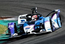 Formel E: Formel-E-Test Valencia, Tag 1: BMW-Neuling Günther auf Platz 2