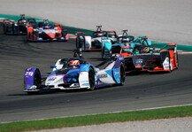 Formel E: Formel-E-Test Valencia, Tag 3: Günther vor Wehrlein und Müller