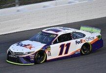 NASCAR: NASCAR Kansas: Denny Hamlin siegt nach zwei Verlängerungen