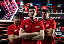 eSports: Formel 1 eSports: Ferrari-Junior Tonizza vor Titelgewinn 2019