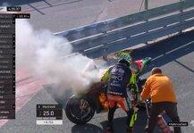 MotoGP: MotoGP-Test Valencia: Vinales holt Bestzeit, Iannone brennt ab