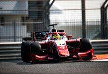 Formel 2: Formel-2-Test: Schaden legt Schumacher lahm, Deletraz vorne