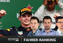 Formel 1: Formel 1 Fahrerranking 2019: Verstappen entthront Hamilton