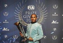 Formel 1: Formel 1, FIA-Gala 2019: Hamilton, Verstappen & Lauda geehrt