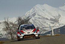 WRC: WRC Monte Carlo 2020: Evans knapp vorne