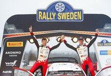 WRC: WRC Rallye Schweden 2020 im Live-Ticker: Elfyn Evans gewinnt