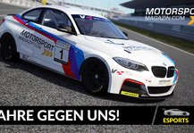 eSports: Motorsport-Magazin.com goes eSports: Simracing-Action im April