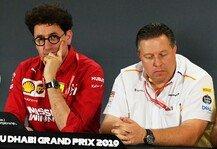 Formel 1: Formel 1, Ferrari kontert McLaren im Budget-Streit: sind Kunden