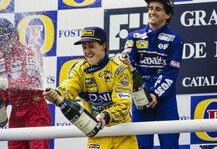 Formel 1: Formel 1 heute vor 28 Jahren: Ein Podium, drei Legenden