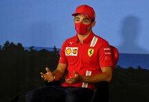 Formel 1: Formel 1, Leclerc: 2020 wird für Ferrari zu 99 Prozent härter