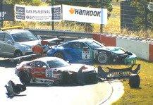 VLN: NLS 2 Nürburgring 2020: Heftiger GT3-Crash im Zeittraining