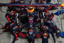 Formel 1: Formel 1: Boxenstopp-Meister Red Bull - Ferrari in Problemen