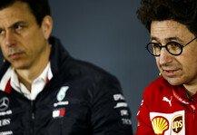 Formel 1: Binotto und Wolff zoffen sich: Sportliche Strafen ja oder nein?