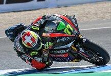Moto2: Moto2 Brünn: Domi Aegerter ersetzt Jesko Raffin