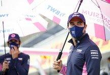 Formel 1: Formel 1: Perez Quarantäne vorbei, Fahrer-Entscheidung offen