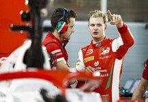 Formel 2: Mick Schumacher: So reagiert er auf die F2-Teamkollision