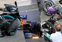 Formel 1: Formel 1 Silverstone: Pirelli nennt Ursache für Reifenschäden