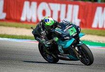 MotoGP: MotoGP Brünn: Morbidelli in FP3 voran, alle Yamaha in Q2