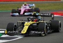 Formel 1: Formel 1, Silverstone Trainingsanalyse: Renault lebt gefährlich