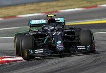 Formel 1: Formel 1 Spanien 1. Training: Mercedes dominiert, Vettel zurück