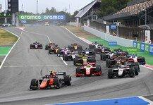 Formel 2: Formel 2 und Formel 3 zeigen Kalender 2021: 2 neue Rennen