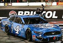 NASCAR: NASCAR 2020 Bristol: Kevin Harvick siegt zum 9. Mal, Top-12 fix
