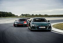 Auto: 24h Nürburgring: Audi legt Sondermodell R8 green hell auf