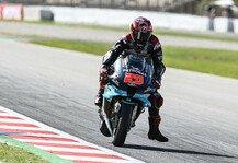 MotoGP: MotoGP Barcelona: Erneuter Bremsdefekt bei Fabio Quartararo