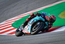 MotoGP: MotoGP Barcelona: Dovizioso und Rossi out, Quartararo siegt