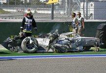 Formel 2: Formel 2 Sotschi: Abbruch nach Horror-Crash, Schumacher-Podium