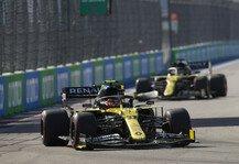 Formel 1: Formel 1: Renault verhaut Teamplay, Ricciardo bügelt Strafe aus