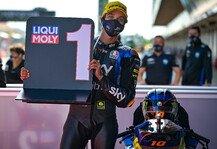 Moto2: Moto2 Barcelona: Luca Marini besiegt Lowes in engem Duell