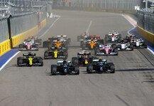 Formel 1: Formel 1 Russland 2020: Sotschi-Fahrernoten - hier bewerten!