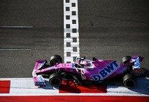 Formel 1: Formel 1, Perez schlägt zurück: Nach Sotschi auf einem Hoch