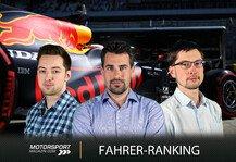 Formel 1: Formel 1 Sotschi, Fahrerranking: Verstappen schlägt zurück
